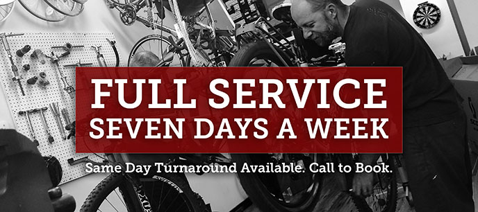 Full Service Bike Shop